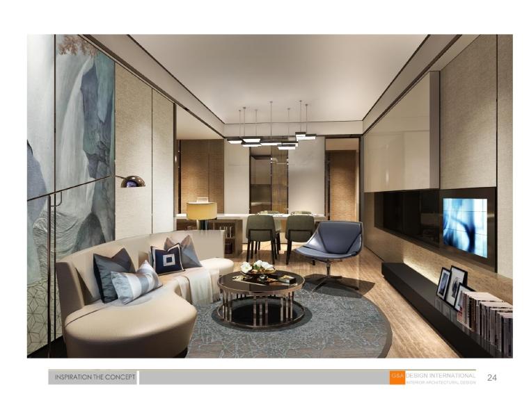 [上海]集艾设计G&A-海珀黄浦4-1中式样板间设计方案含效果图+施工图_15