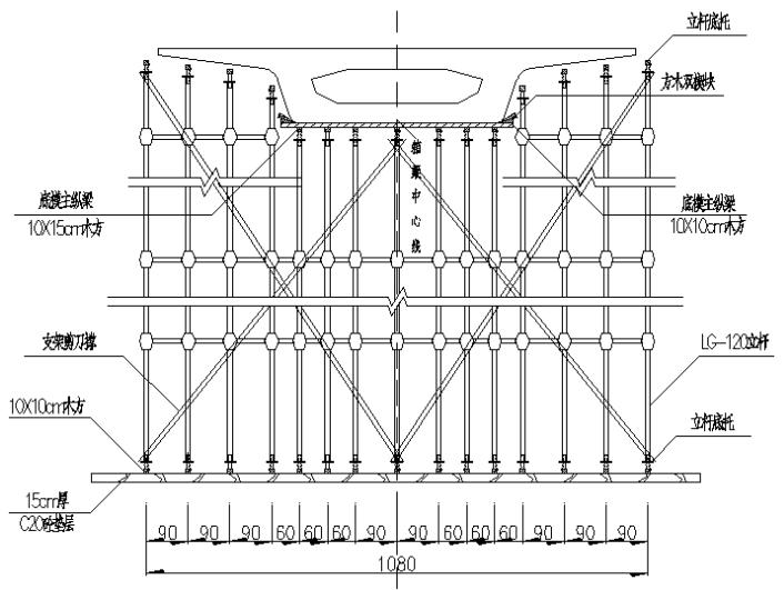道路立交匝道桥满堂式碗扣支架现浇连续箱梁专项施工方案_3