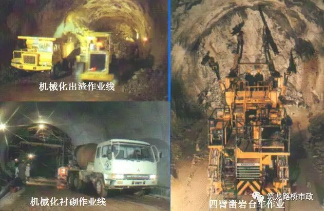原来隧道是这样施工的丨图文解说最全隧道开挖方法-QQ截图20170518172234