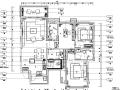 现代简洁户型样板房设计施工图(附效果图)