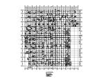 [浙江]知名广场框架结构地下室结构施工图(CAD、8张)