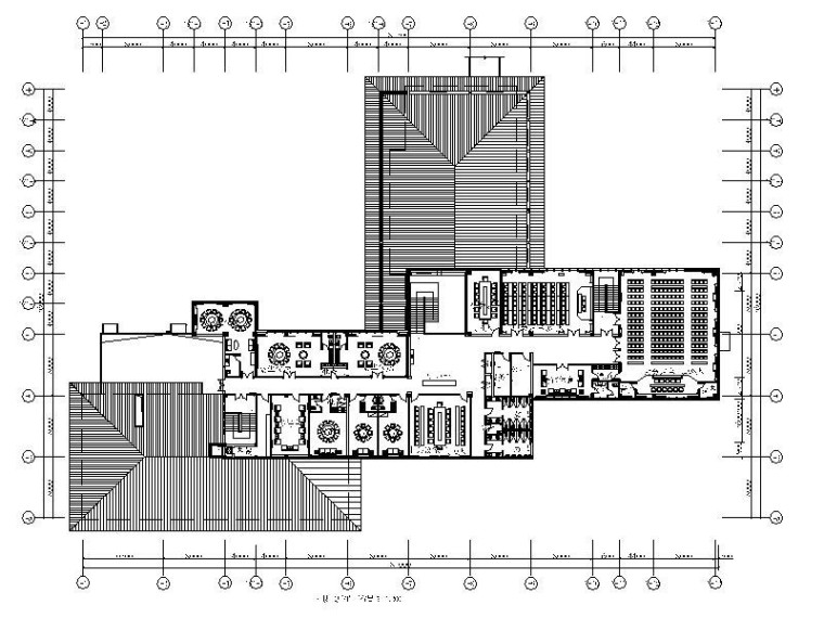 [青岛]高档休闲温泉度假酒店设计施工图(含效果图)