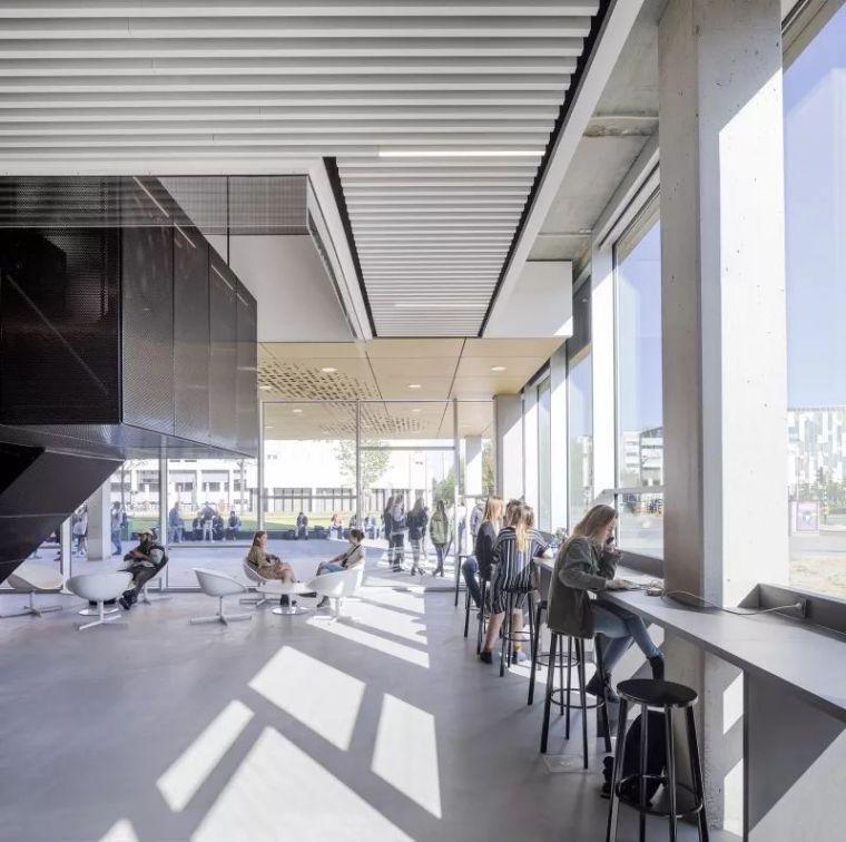 拥有一个霸道中庭的荷兰UTRECHT应用科学大学教学楼/SHL_11