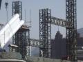 150米跨梁拱组合体系桥梁钢管拱安装方法创新