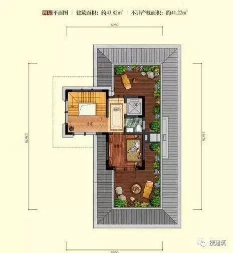 万科罕见的270㎡5房6卫双拼户型,庭院高达228㎡_28