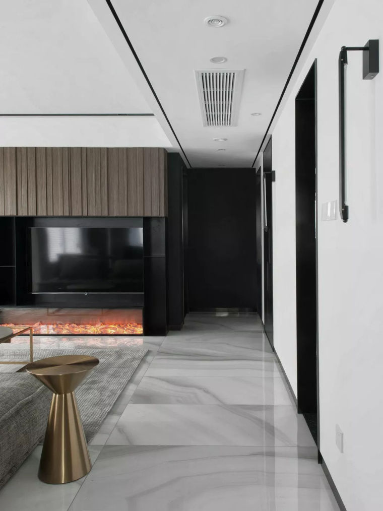 最简单的黑白灰,塑造最高级的家!_5