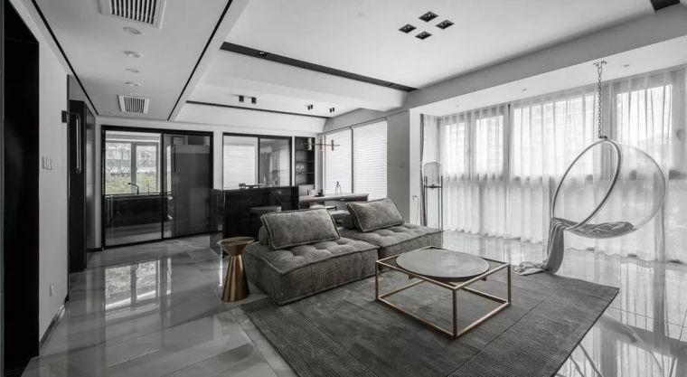 最简单的黑白灰,塑造最高级的家!_4