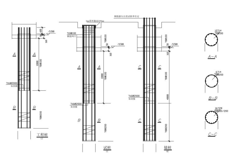 18层纯剪力墙结构住宅楼结构施工图(CAD、23张)_1