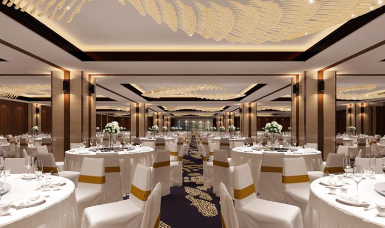五星酒店大堂效果图_室内设计意向图_2021年室内设计意向图资料下载_筑龙学社