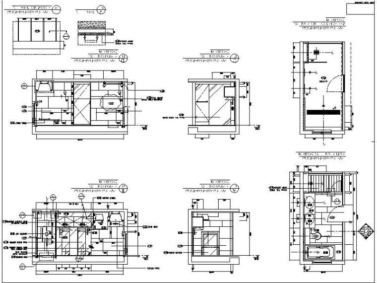 [香港]简约格调设计三居室施工图(含实景图)_5