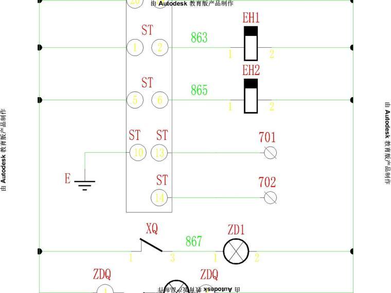 10kv配电室电气图进线pt图计量柜图隔离柜图等
