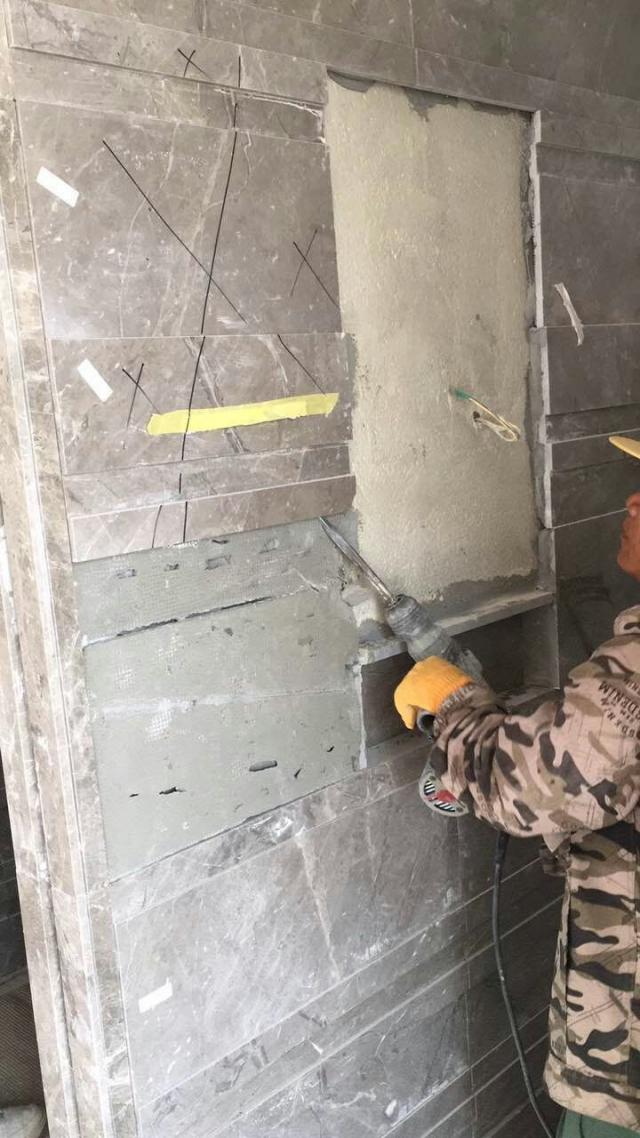 大理石墙面地面空鼓原因,修复和预防