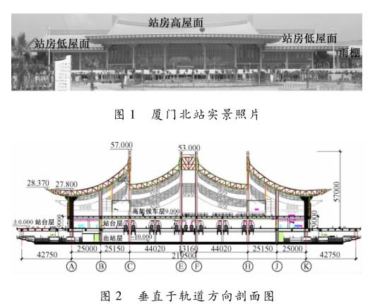 厦门北站巨型混合框架结构设计与分析