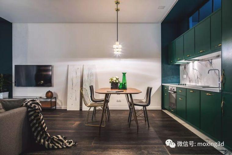 色彩灵动的北欧简约公寓,无可挑剔的美_9