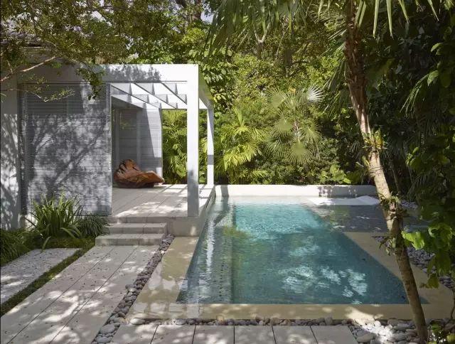 赶紧收藏!21个最美现代风格庭院设计案例_105