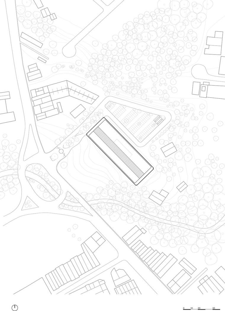 巴西安汉比莫隆比大学新建筑-22