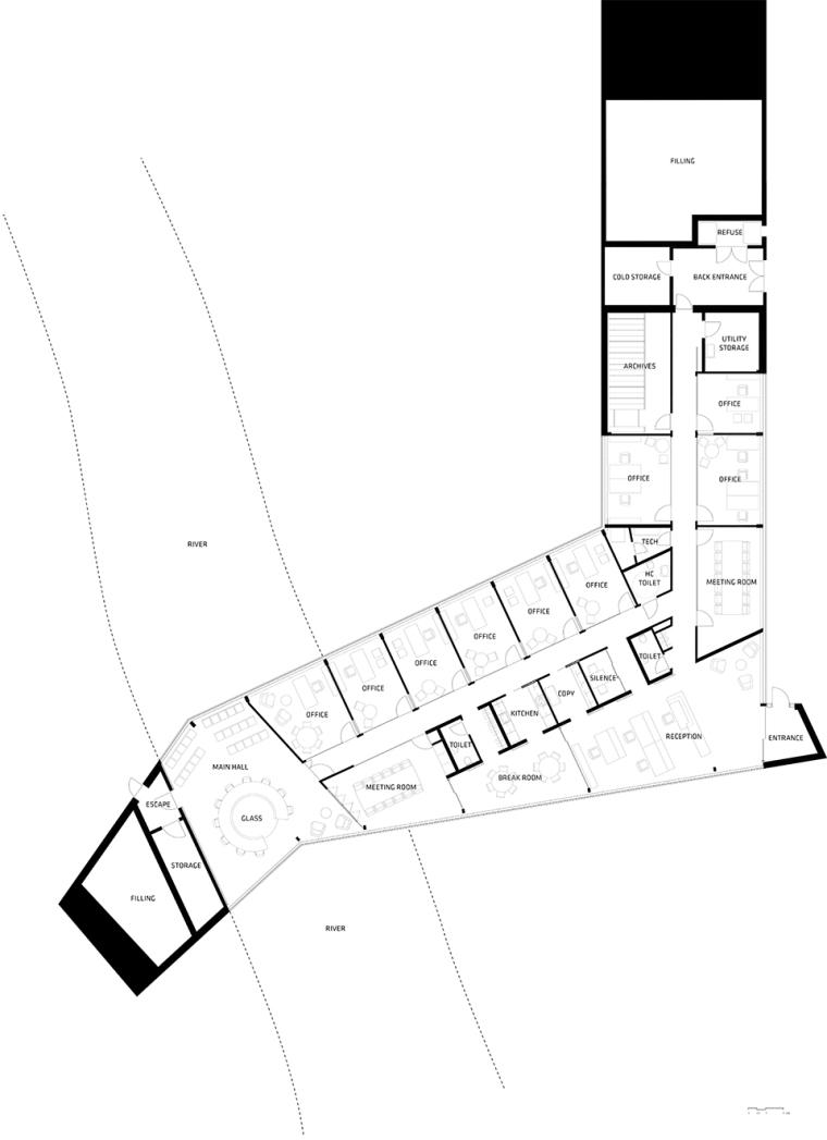 丹麦Eysturkommuna市政厅-23