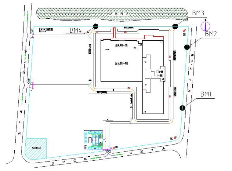 [天津]国际医院工程测量专项施工方案(创鲁班奖)