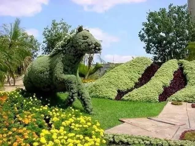 80个极美植物雕塑_27