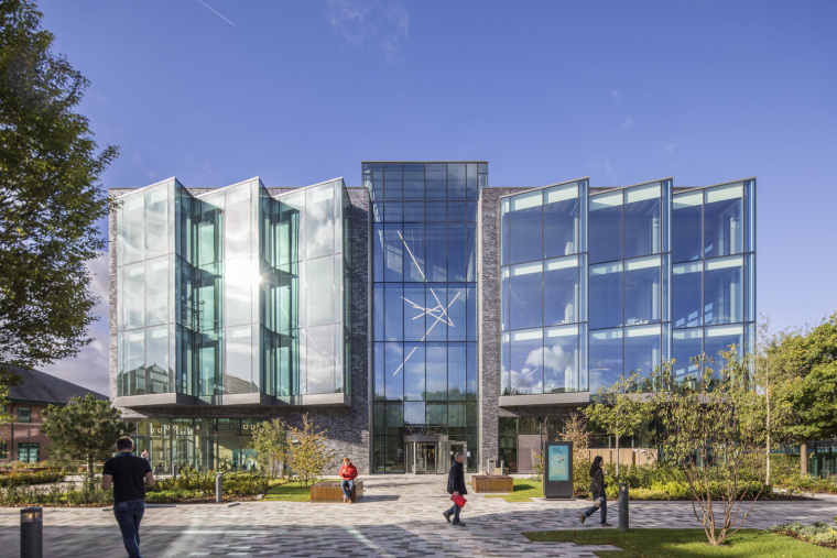 CityVerve公司玻璃幕墙办公大楼