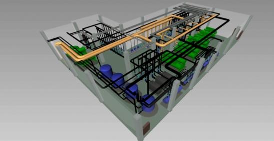 bim技术在管道安装工程中的应用(电力水利工程科技专业资料)