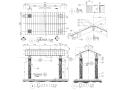 精选景观亭廊施工图(50套)