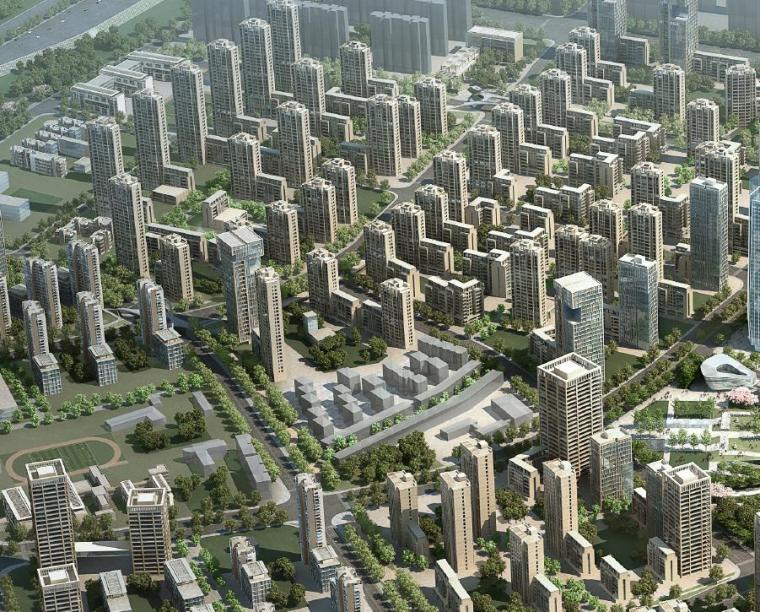 [江苏]AECOM南京江宁上坊中心区旧城改造方案文本