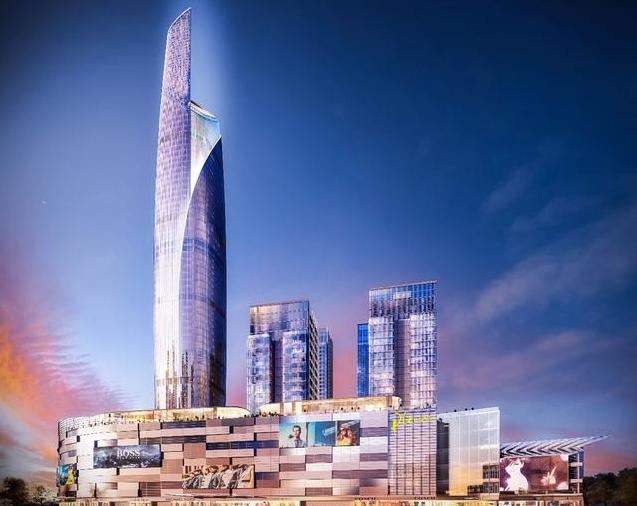 佛山苏宁地标塔楼结构抗震设计