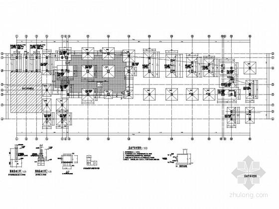 [山东]三层钢框架结构宾馆结构施工图(含建施)