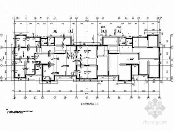 [青岛]18层剪力墙高层住宅楼结构施工图