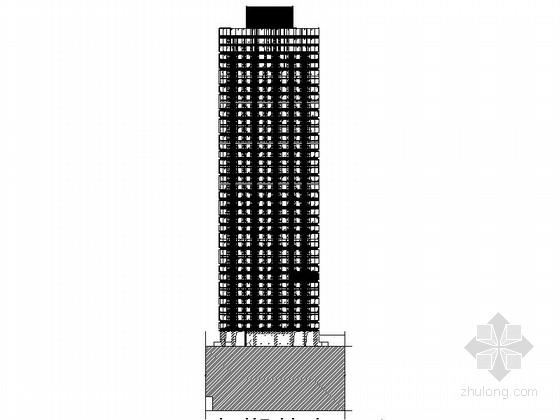 [四川]160米独栋现代风格住宅楼设计施工图(知名建筑设计院)