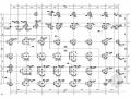 五层框架结构名牌大学附属中学行政楼结构施工图(地下一层)