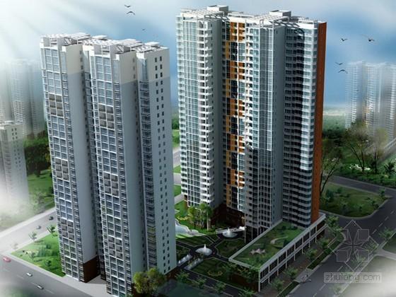 [深圳]超高层大型住宅群体工程监理规划(共13栋建筑 高99.5米)