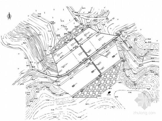 [湖南]小(一)型病险水库大坝位移观测工程施工图