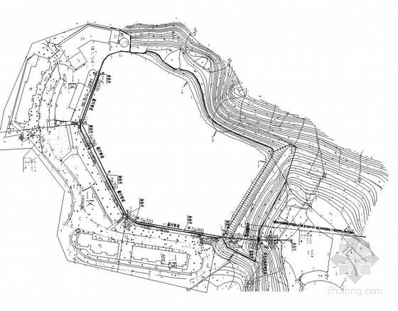 [重庆]水库湿地整治截污管网施工图