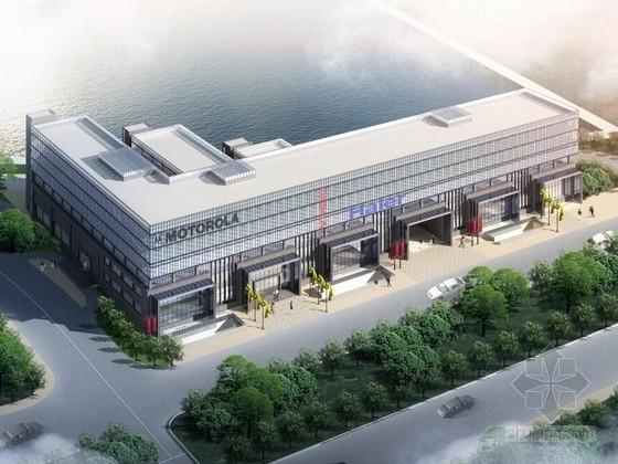 [南京]现代风格办公区规划及单体方案文本(含CAD)