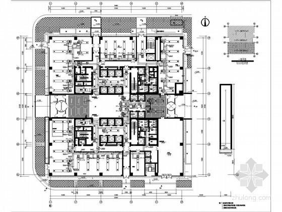 [北京]某科研楼通风空调及防排烟设计施工图(含人防设计)