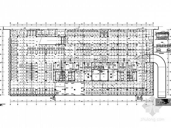 5万平21层公建全套图纸(虹吸雨水、中水系统)