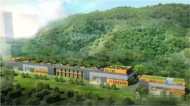中国大陆首座山洞式污水处理厂开建