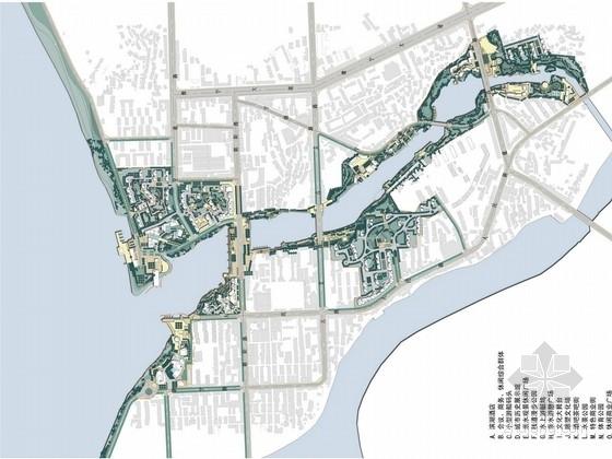 [江西]城市生态湖泊两侧景观及土地开发修建性详细规划方案