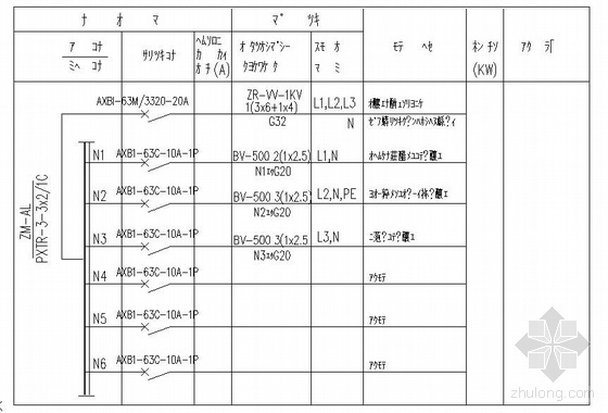 噴泉工程全套電氣施工圖