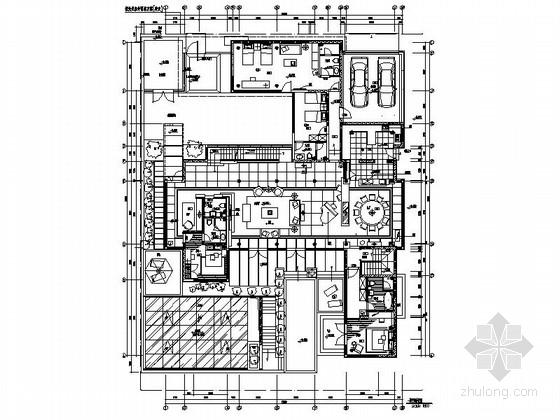 [北京]古典欧式主义两层别墅设计装修图(含实景)