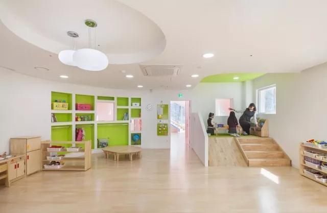 首尔幼儿园设计|空间结构与色彩搭配_4