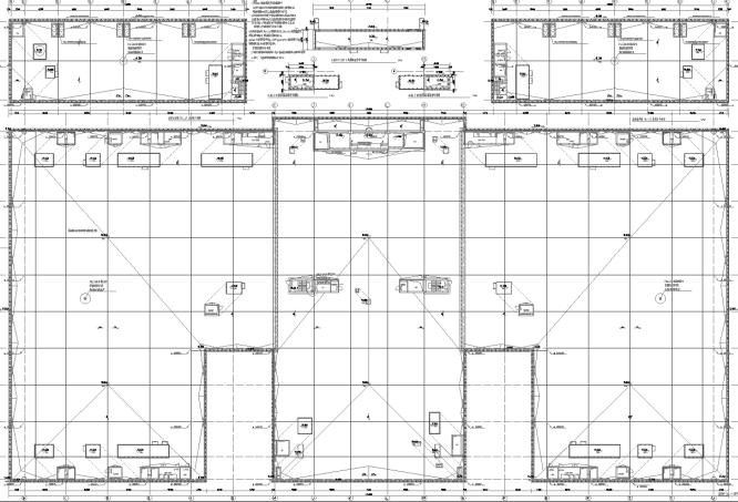 农行北京数据中心机房工程配套机电设计图纸