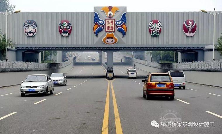 山西临汾一座文化品牌桥:脸谱大桥
