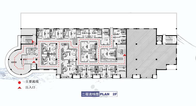 [无锡]主题温泉会所设计施工图(含概念设计和效果图)