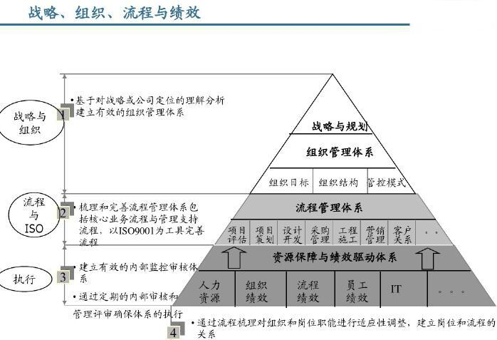 战略、组织、流程与绩效