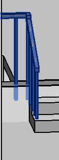 室内踏步栏杆扶手的做法