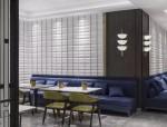 琼海博鳌几何形的餐厅