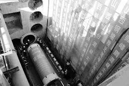 全国首例新管幕法盾构施工开掘